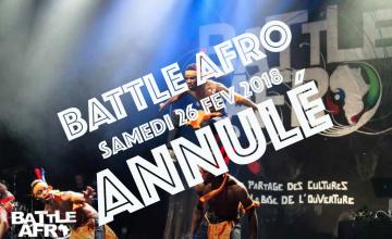 BATTLE AFRO - ANNULÉ