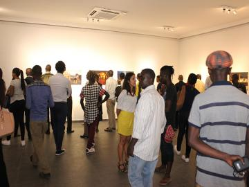 Vernissage d'exposition